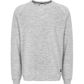 super.natural Essential Raglan Crew Sweater Herr ash melange